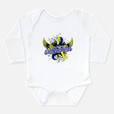 DS Awareness 16 Long Sleeve Infant Bodysuit