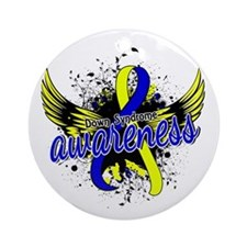 DS Awareness 16 Ornament (Round)