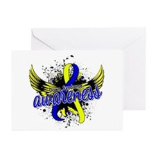 DS Awareness 16 Greeting Cards (Pk of 20)