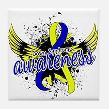 DS Awareness 16 Tile Coaster