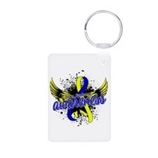 DS Awareness 16 Aluminum Photo Keychain