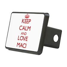 Keep Calm and Love Maci Hitch Cover