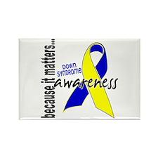 DS Awareness 1 Rectangle Magnet