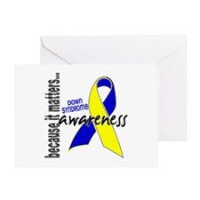 DS Awareness 1 Greeting Card