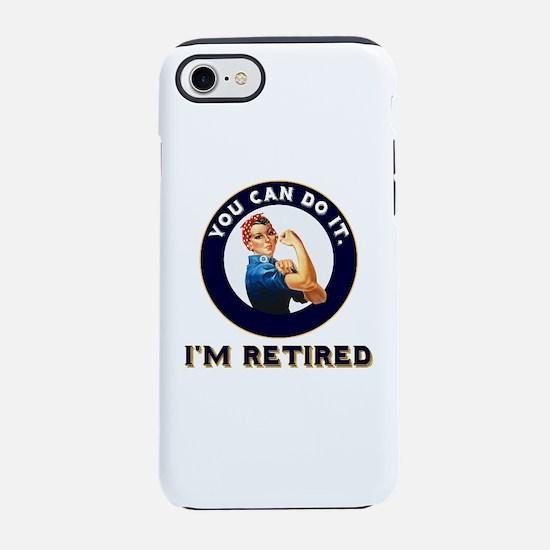 Rosie Retired Riveter iPhone 7 Tough Case