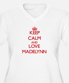 Keep Calm and Love Madelynn Plus Size T-Shirt