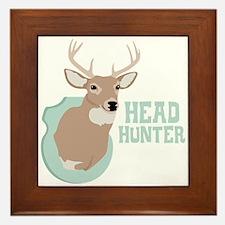 HEAD HUNTER Framed Tile