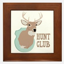 HUNT CLUB Framed Tile