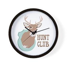 HUNT CLUB Wall Clock