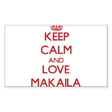 Keep Calm and Love Makaila Decal