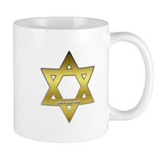 Gold Star of David Mug