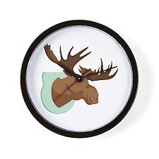 Moose Mount Wall Clock
