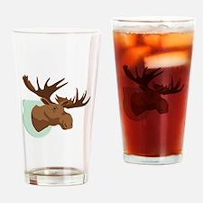 Moose Mount Drinking Glass