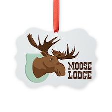 MOOSE LODGE Ornament