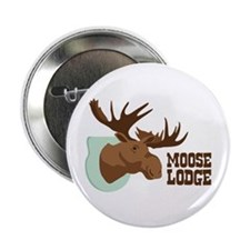 "MOOSE LODGE 2.25"" Button"