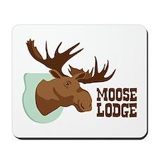 MOOSE LODGE Mousepad