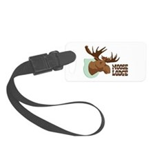 MOOSE LODGE Luggage Tag