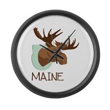 MAINE Large Wall Clock