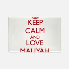 Keep Calm and Love Maliyah Magnets