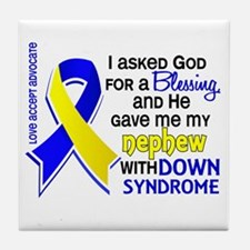 Blessing 4 Nephew DS Tile Coaster