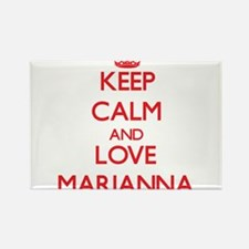 Keep Calm and Love Marianna Magnets