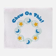 Chew On This! Throw Blanket