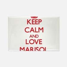 Keep Calm and Love Marisol Magnets