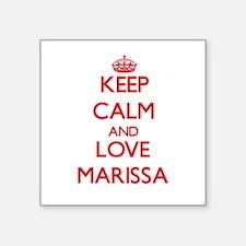 Keep Calm and Love Marissa Sticker