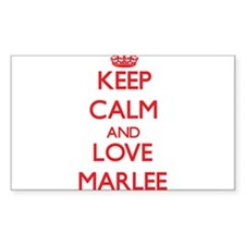 Keep Calm and Love Marlee Decal