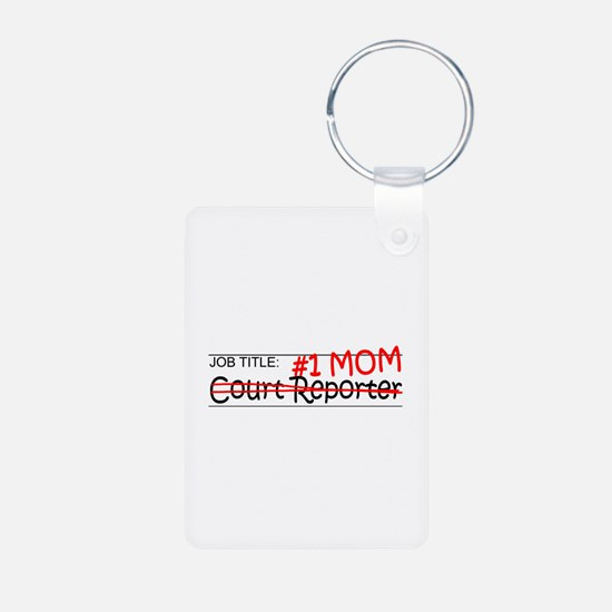 Job Mom Court Reporter Keychains