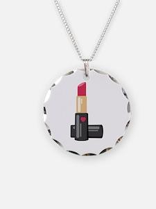 Lipstick Necklace