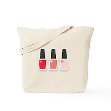 Nail Polish Manicure Tote Bag