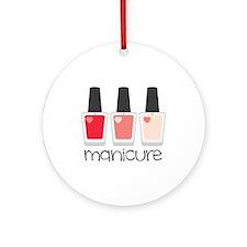 Manicure Ornament (Round)