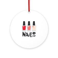 Nails Ornament (Round)