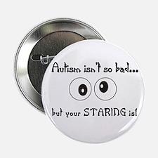 """Staring.jpg 2.25"""" Button"""