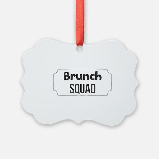 Brunch Squad Ornament