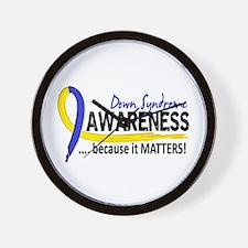 DS Awareness 2 Wall Clock