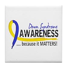DS Awareness 2 Tile Coaster