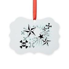 Stars and Skulls Ornament