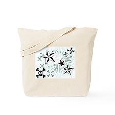 Stars and Skulls Tote Bag