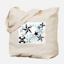 Stars and Skulls Tote Bag
