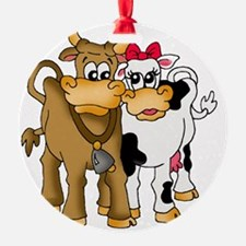 Pair of cows Ornament