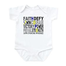DS Hope Collage Infant Bodysuit