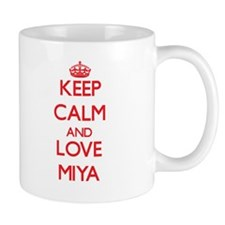 Keep Calm and Love Miya Mugs