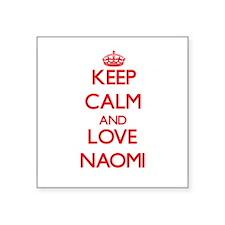 Keep Calm and Love Naomi Sticker