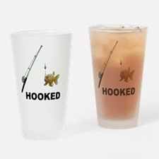 HOOKED Drinking Glass