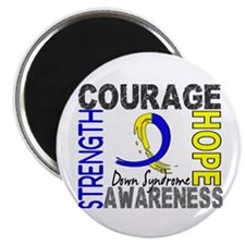 "DS Courage Faith 2 2.25"" Magnet (100 pack)"