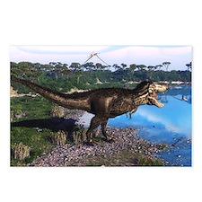 Tyrannosaurus 2 Postcards (Package of 8)