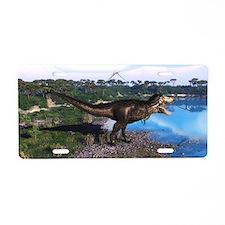Tyrannosaurus 2 Aluminum License Plate