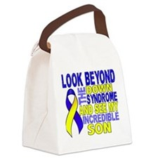 DS Look Beyond 2 Son Canvas Lunch Bag